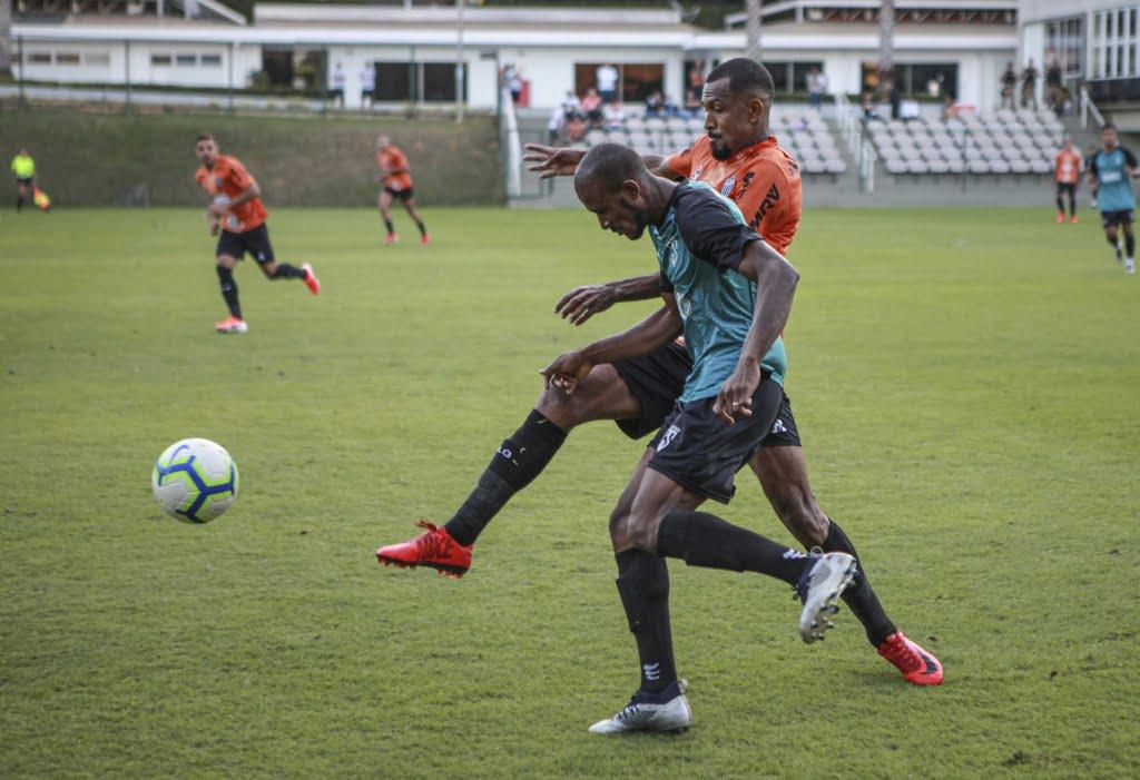 Jogo treino - Atlético-MG 2x2 Coimbra