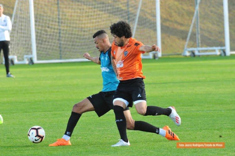 Jogo-treino Atlético-MG e Coimbra
