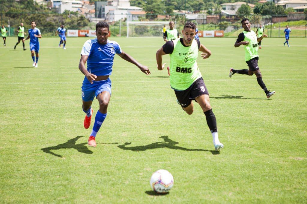 Jogo treino com o Cruzeiro