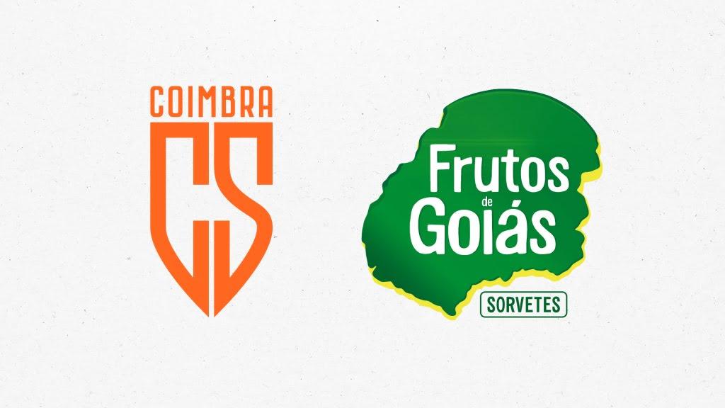COIMBRA SPORTS ANUNCIA FRUTOS DE GOIÁS COMO NOVA PARCEIRA COMERCIAL