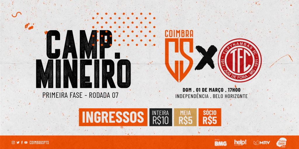 Coimbra vs Tupynambás
