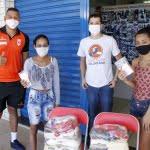 SOLIDARIEDADE: COIMBRA DISTRIBUI MÁSCARAS EM CONTAGEM E BELO HORIZONTE