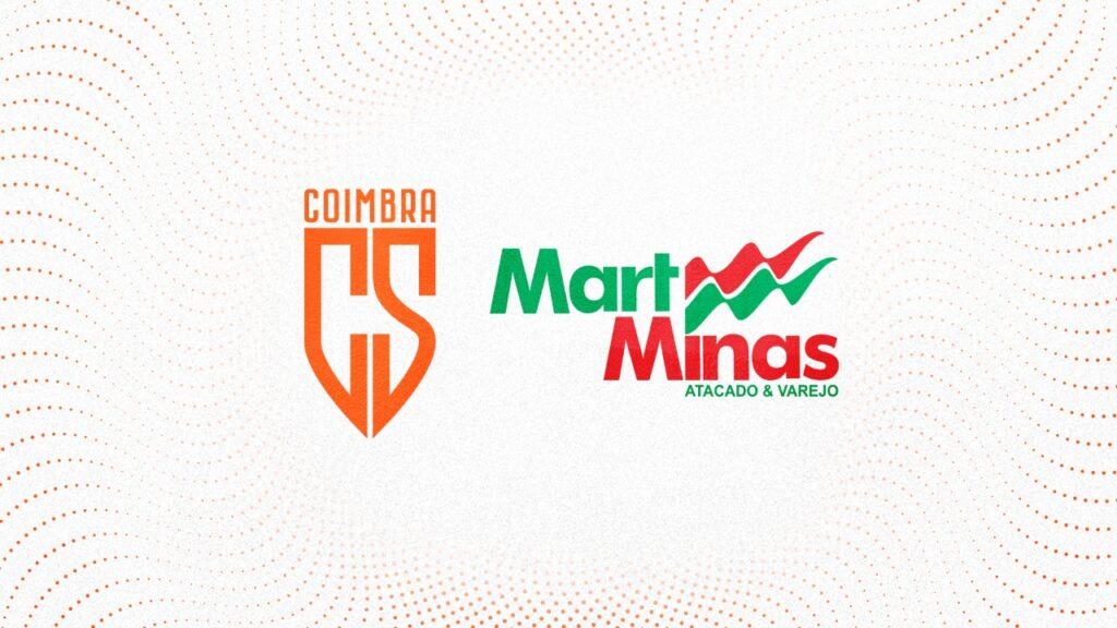 MART MINAS É O NOVO PATROCINADOR DO COIMBRA SPORTS